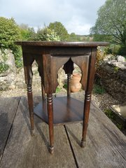 Unusually small Moorish table for Liberty