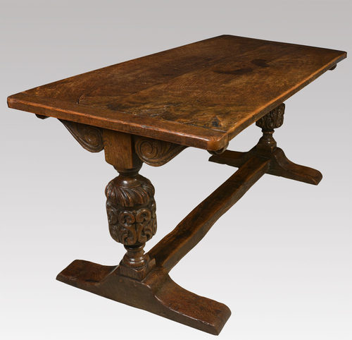 Carved Oak Refectory Table Antiques Atlas : Carvedoakrefectorytableas135a823b from www.antiques-atlas.com size 500 x 482 jpeg 34kB