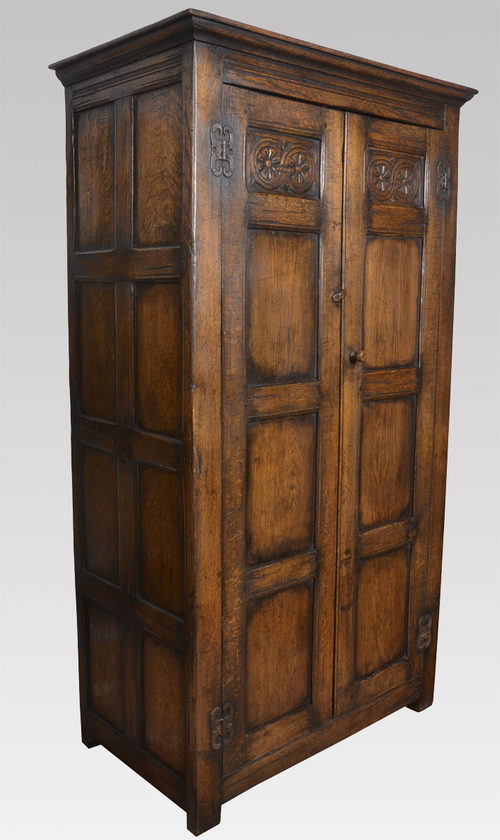Carved Oak Wardrobe Antiques Atlas