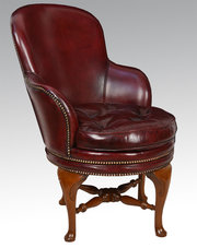 Revolving Library tub chair