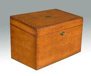 Victorian Oak stationary Box