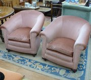 Pair of Victorian Fireside Eas