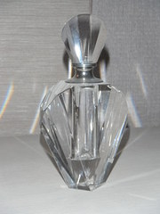 Art Deco Cut Glass Perfume Bot