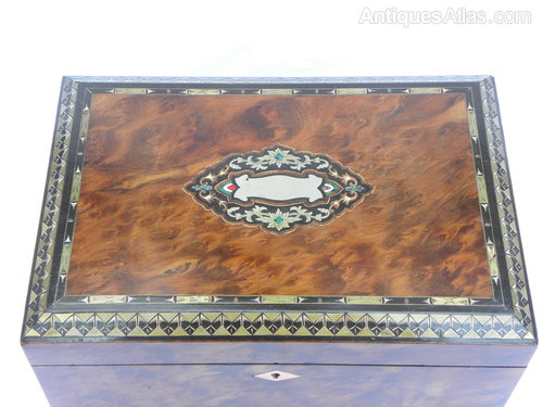 Antiques Atlas A Pear Wood And Birds Eye Maple Jewel Box