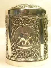 Indian silver coloured metal b