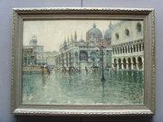 Luigi Pagan Impressionist Oil