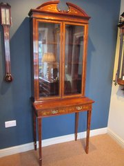 Fine Victorian Rosewood Inlaid