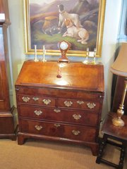 Superb George I Walnut Bureau