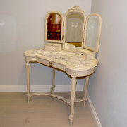 Antique French painted dressin
