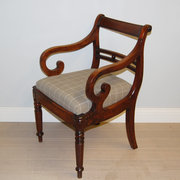 Georgian desk chair or carver