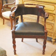 Mahogany Desk Chair a11487