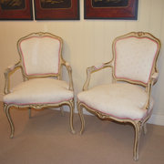 Pair of French louis xv style