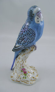 Royal Worcester Budgerigar RW