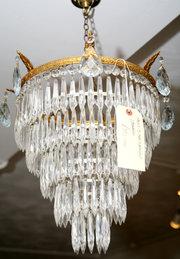 5 Tier 1930s Waterfall chandel