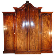 William IV Flame Mahogany Brea