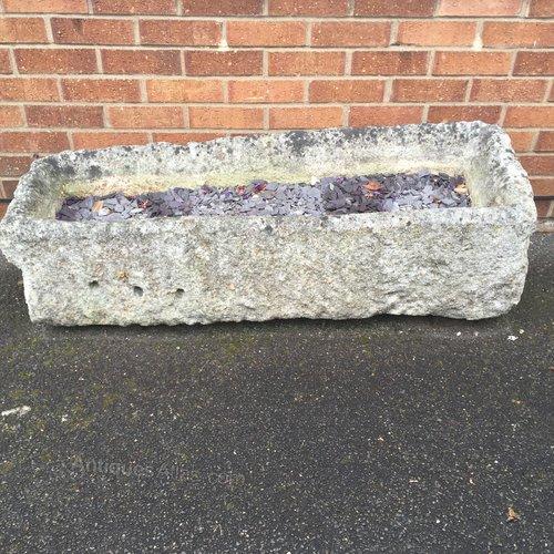 Antique Stone Water Trough circa 1820