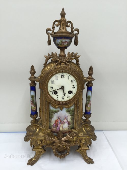 French Ormolu Mantle Clock circa 1830