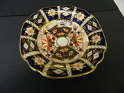 Royal Crown Derby Quatrefoil D