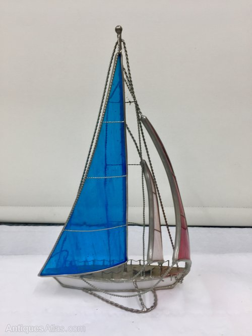 Vintage 1950's Sailing Yacht