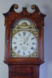 Antique Mahogany Longcase Cloc