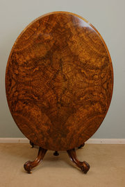 Antique Victorian Walnut Dinin
