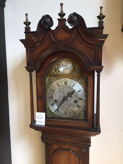 Antique English, Miniature Longcase clock
