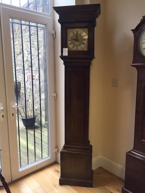 Antique longcase clock by Jonathan Frost c1740
