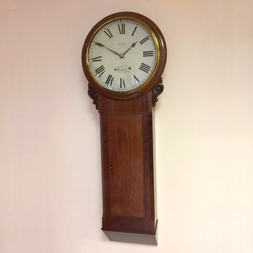 C1845 original Large English Dial Clock