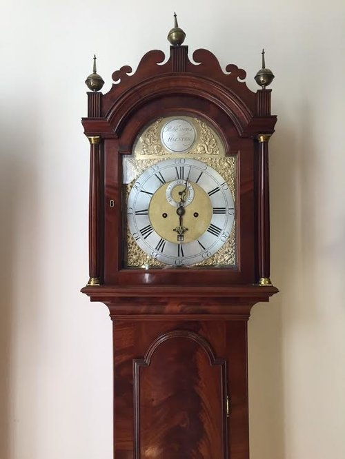 C 1760 Evens of Halstead (Essex) Longcase Clock