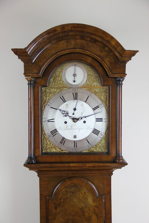 c1765 London walnut Longcase Clock