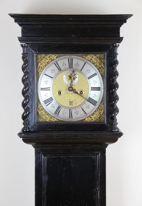 Ebonised London Longcase clock