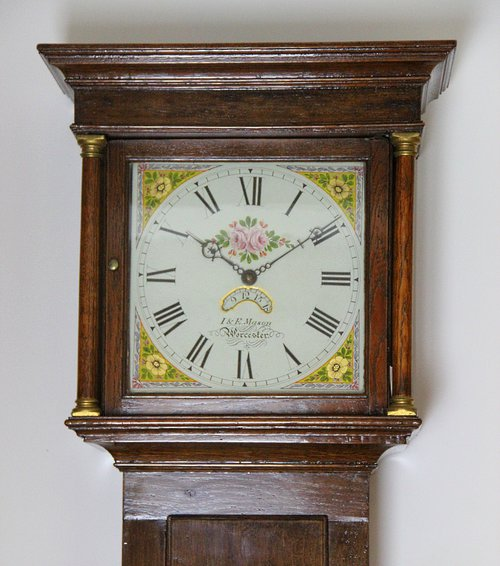 Fine English Oak 30 Hour longcase clock