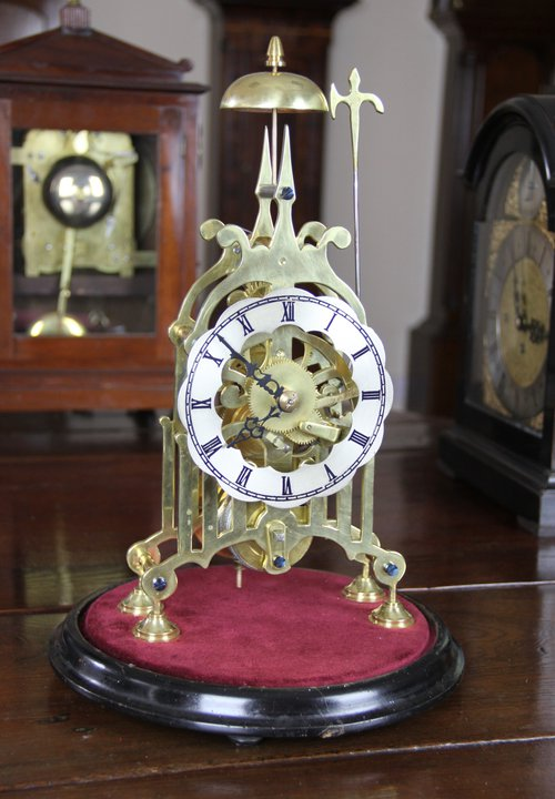 Victorian Skeleton Clock.