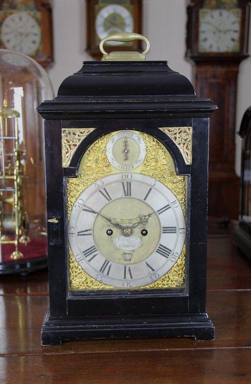 London Bracket Clock by James Lloyd