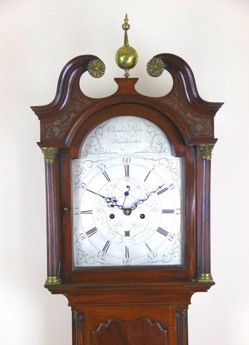 Scottish Mahogany Longcase Clock