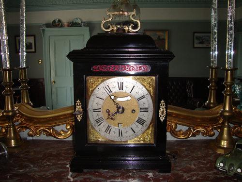 Circa 1695/1700 Bracket Clock.
