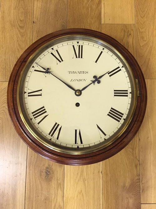 Superb Dial fusee Wall Clock, Thwaites London