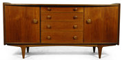 Afromosia and Teak sideboard b