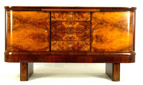 Art Deco Continental Sideboard Buffet Antiques Atlas