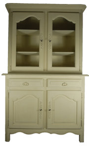 French Painted Bookcase