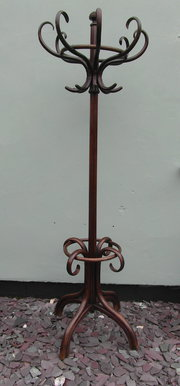 Edwardian Bentwood Coat Stand
