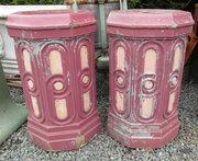 Pr Victorian Glazed Pillars
