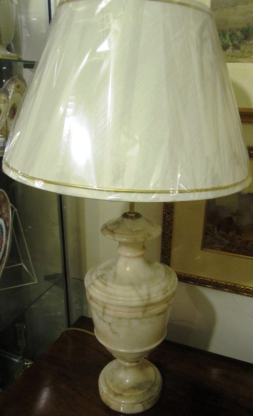 Antiques Atlas Marble Based Table Lamp