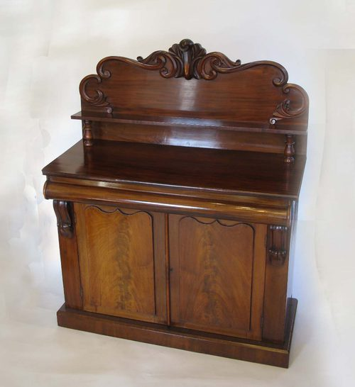 victorian mahogany chiffonier antiques atlas. Black Bedroom Furniture Sets. Home Design Ideas