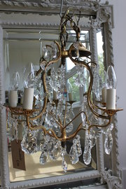 French chandelier  birdcage 5