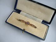 Antique  Edwardian rose gold b