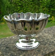 Antique hallmarked silver dish