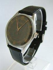 Gents 1940s Ogival wrist watch
