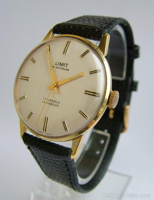 antiques atlas gents 1960s limit of switzerland wrist