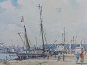 A dockside view Listed Artist